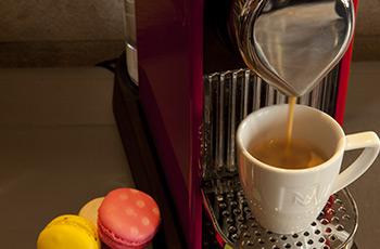Machine à café Nespresso de l'Hôtel Le Saint-Sulpice