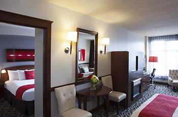 Deluxe suite with murphy bed at Le Saint-Sulpice Hôtel Montréal