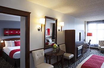 Suite Deluxe avec lit escamotable supplémentaire de l'Hôtel Le Saint-Sulpice
