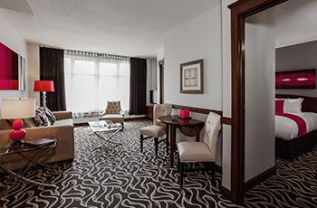 Suite Deluxe avec chambre séparée de l'Hôtel Le Saint-Sulpice