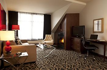 Suite Exécutive avec foyer de l'Hôtel Le Saint-Sulpice