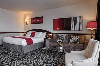 Suite Supérieure avec lit King de l'Hôtel Le Saint-Sulpice