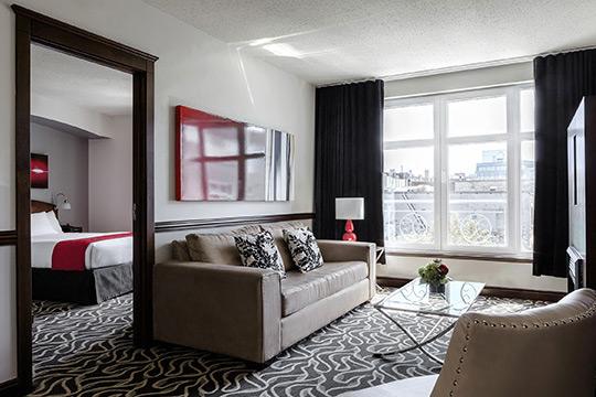 Suite Deluxe dans le Vieux-Montréal
