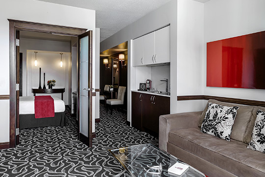 Executive Suites with Kitchenette in Old Montreal