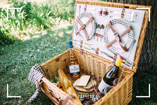 Picnic baskets| Montreal experience SoSulpice! | Le Saint-Sulpice