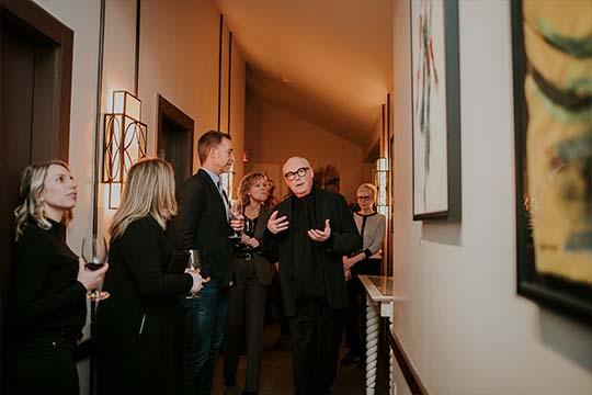 Rencontrez l'artiste Jean-Claude Poitras Iors de son événement privé au Saint-Sulpice H?tel