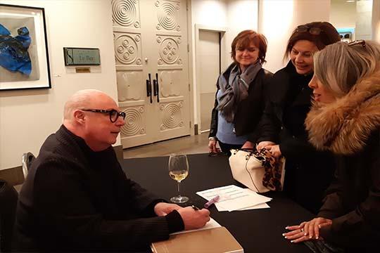 Vernissage Jean-Claude Poitras lors d'un événement privé SoSulpice au Saint-Sulpice H?tel