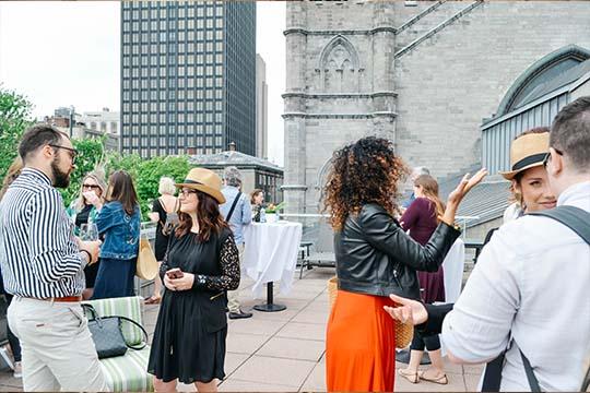 Profitez des événements privés à Montréal lors de votre séjour au Saint-Sulpice Hôtel Montréal.