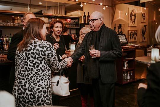 Rencontre privilégiée avec Jean-Claude Poitras lors d'un événement privé au Saint-Sulpice Hotel Montréal