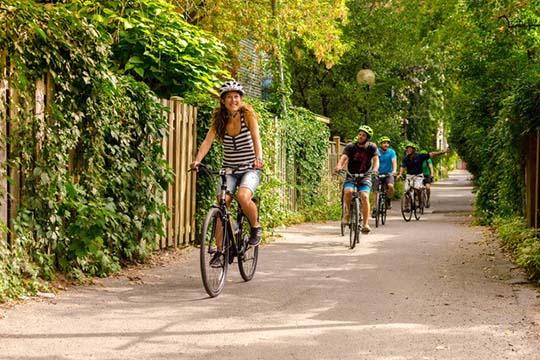 Partez à la découverte de Montréal à vélo avec un tour guidé privé ça roule montréal et le saint-sulpice hôtel montréal