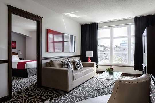Réservez votre Suite Deluxe au Saint-Sulpice Hotel dans le Vieux-Montréal