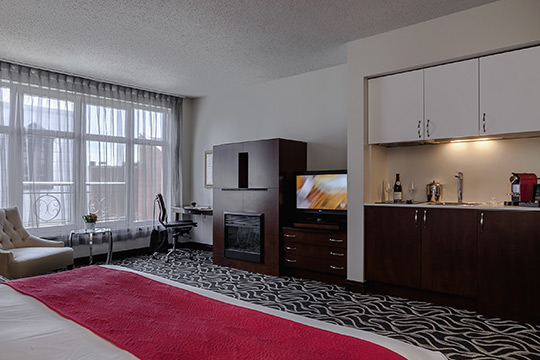 Superior Suites with Kitchenette in Old Montreal