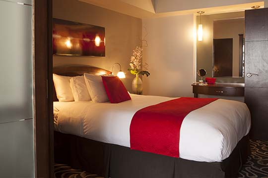 Our superior suites are cosy and spacious  and offert great comfort for a romaticn getaway in Old Montreal